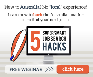 How to find a job in Australia with no local experience